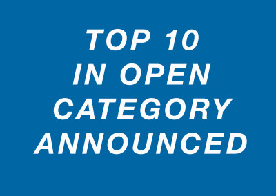 Top 10 OPEN Category Contestants Announced