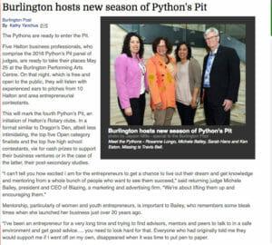 Pythons-Pit-Burlington-Halton