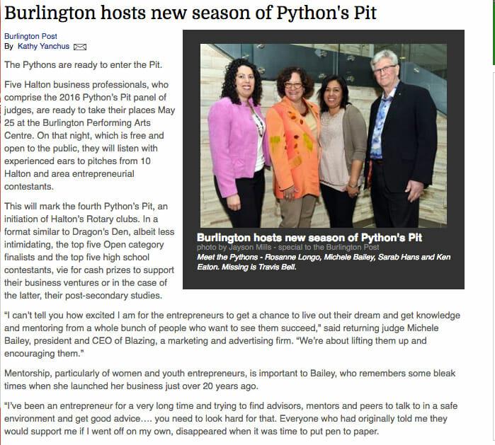 Inside Halton – Burlington Hosts New Season of Pythons Pit